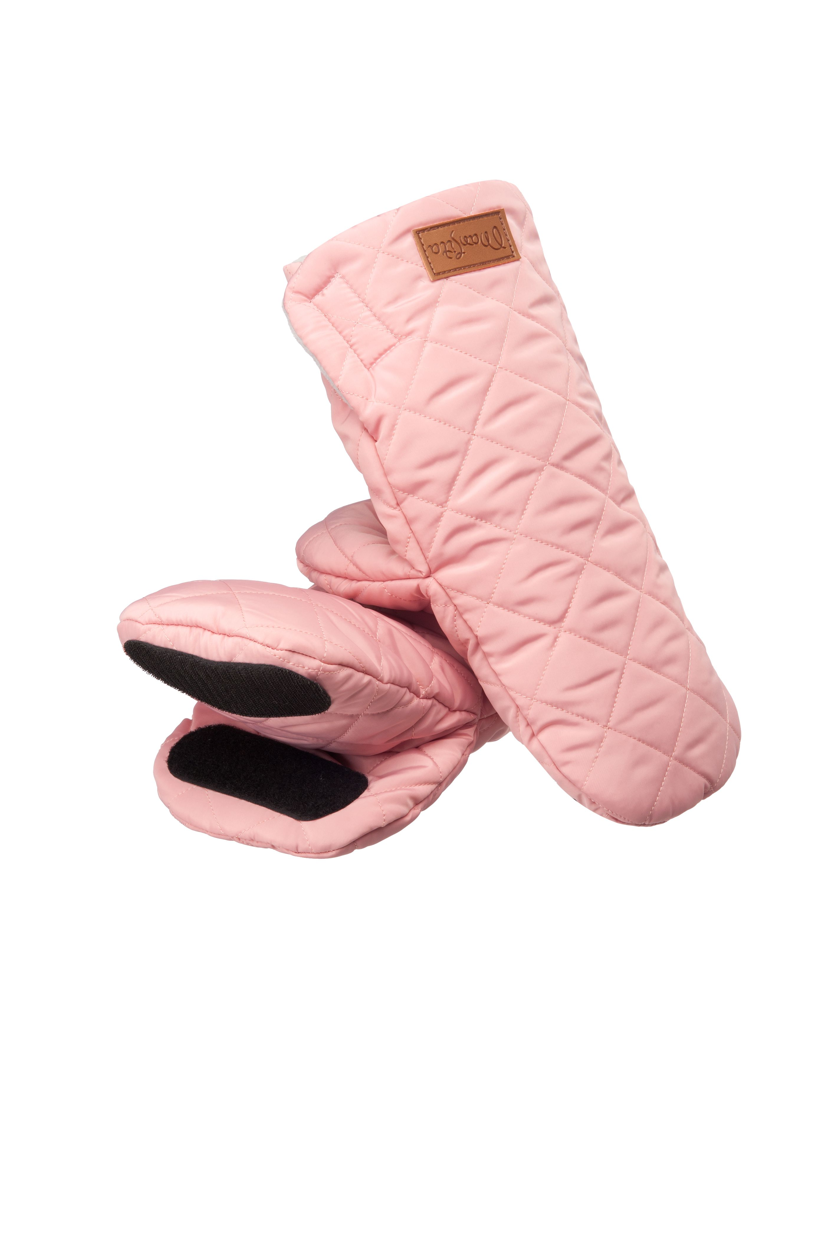 Муфта–варежки Fun розовый