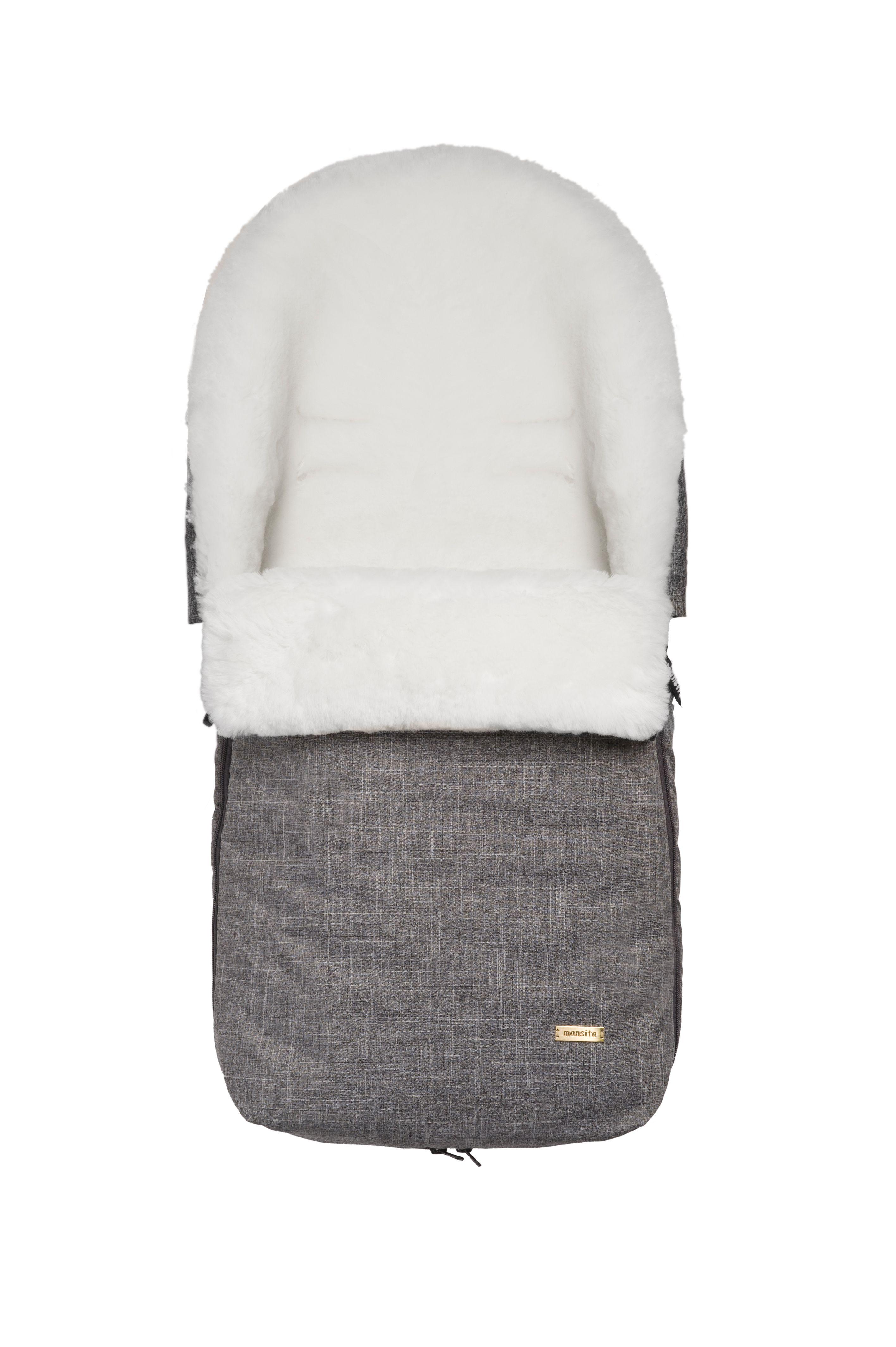 Конверт Mini серый меланж
