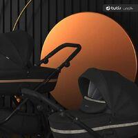 Роскошная Tutis Uno³+ в коллекции BLACK EDITION ⚫  Что нового? - нереальные гелиевые колеса 2ого поколения Real-GelTM с блестящими элементами и из материала софт-тач; - блестящие вставки из эко-кожи; - стильный чёрный рюкзак для мамы 🖤   Заказывайте коляску на нашем сайте⬇️ tutis-russia.ru . . . . . . . #tutis #tutisuno #tutisrussia #tutisuno3 #uno3 #blackedition #коляска3в1 #коляска2в1 #детскаяколяска
